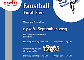 07./08. September 2013: FinalFive in Neuendorf