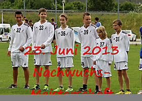 23. Juni 2013: Medaillen für Obererentfeldens Faustball-Nachwuchs