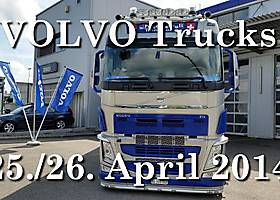 25.-26. April 2014: Helfereinsatz bei Volvo Trucks in Egerkingen